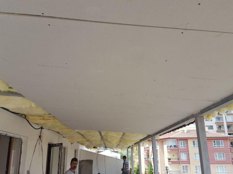 çatı alçıpan asma tavan işleri