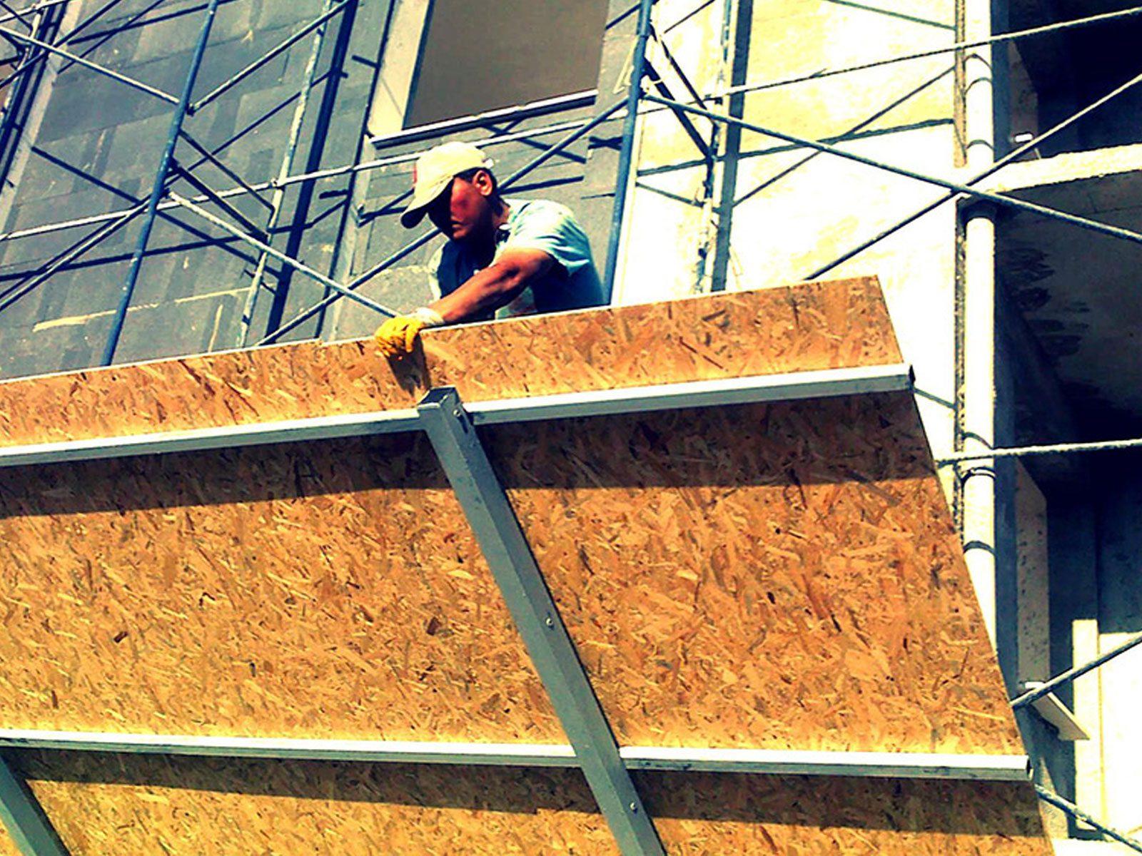 teras kapatma osb montaj 4