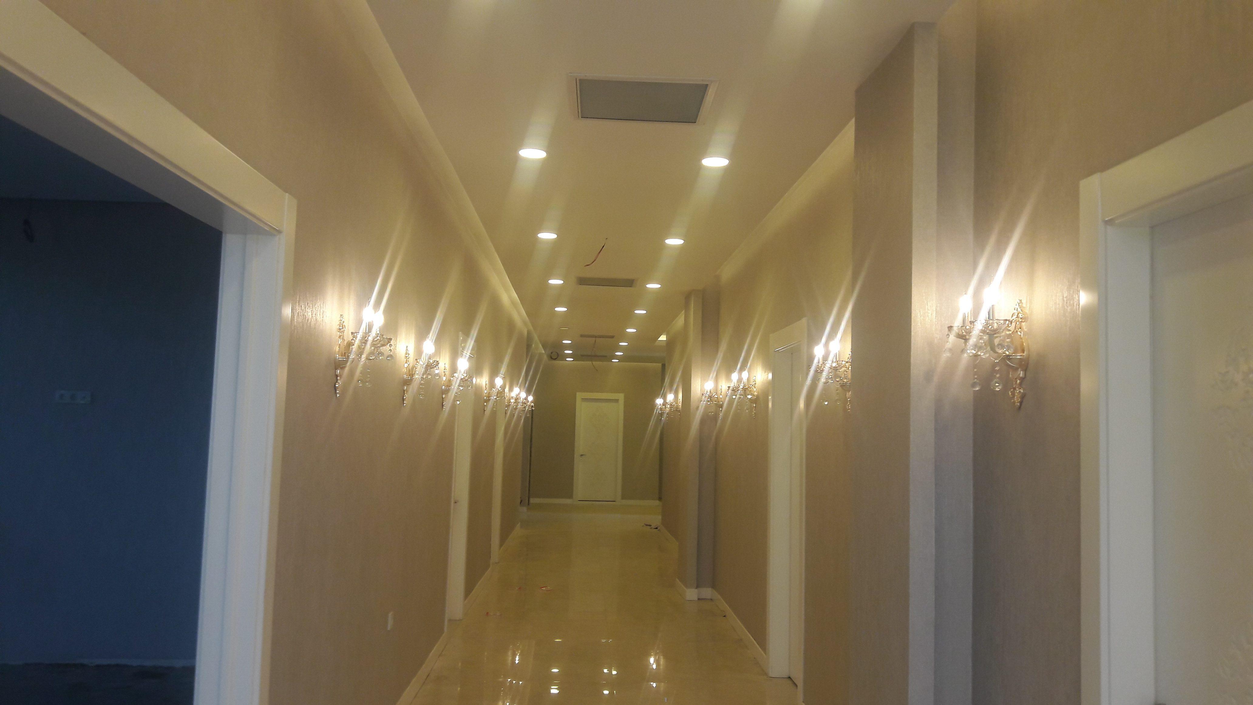 Lüks otel koridor modelleri