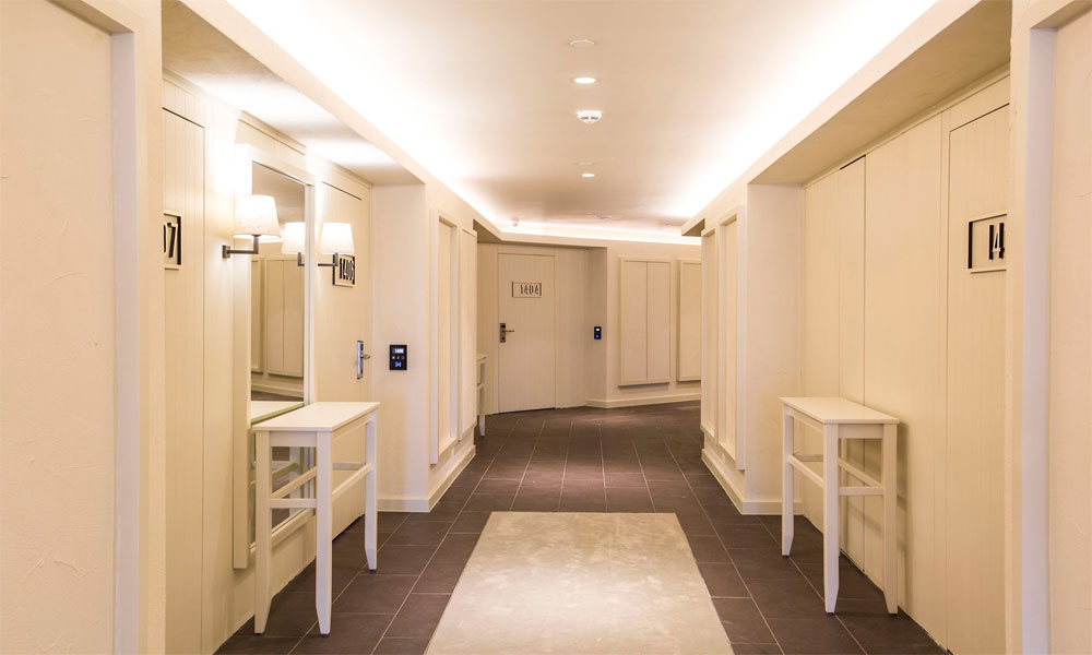 Otel koridorları 3