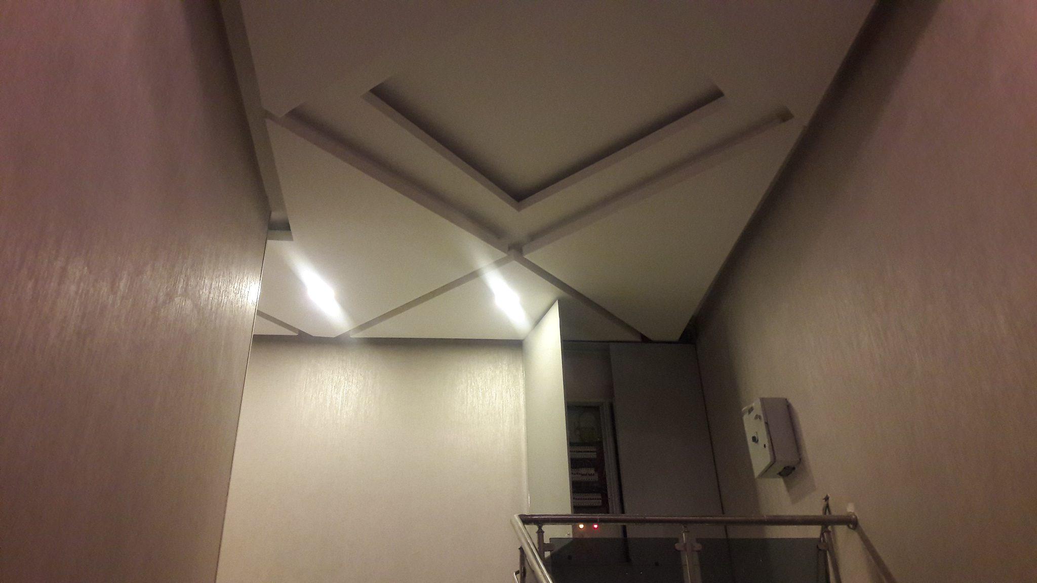 Merdiven başı asma tavan