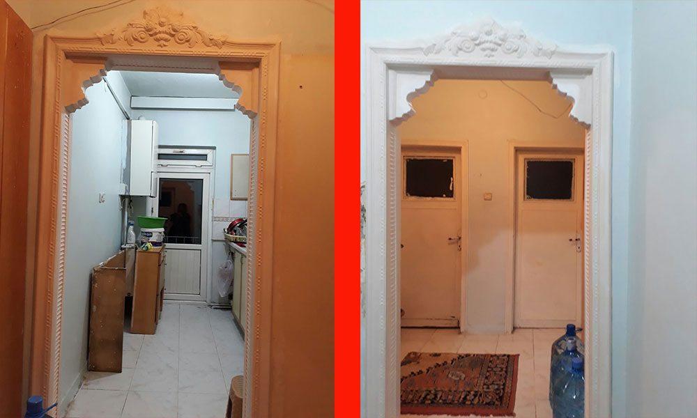 Mutfak kapısı kemerleri