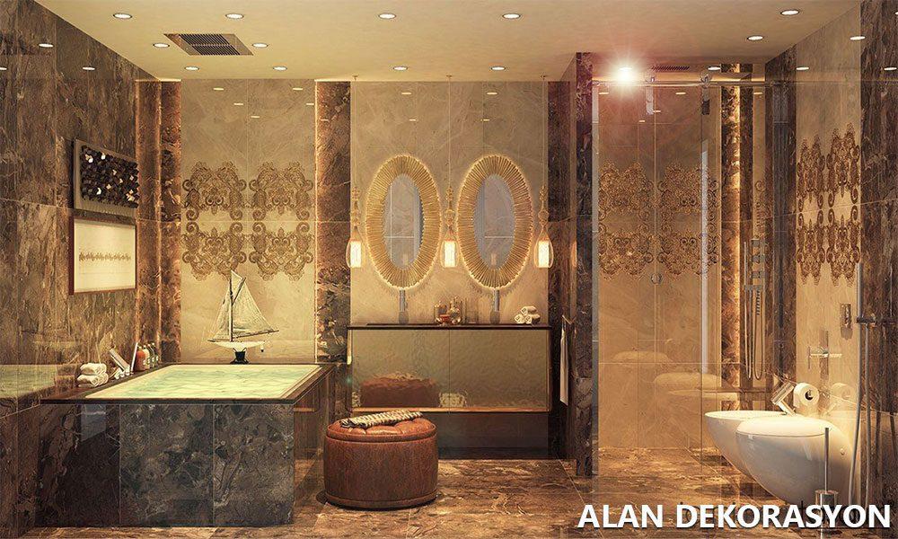 Güzel banyo dekorasyonları ve farklı çalışmalar