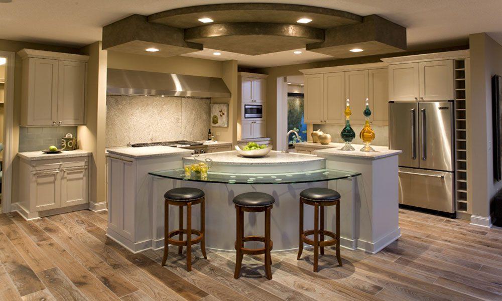 ahşap mutfak dekorasyon örneği1