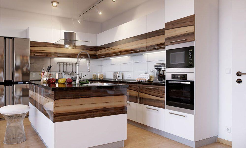 ahşap mutfak dekorasyon örneği3
