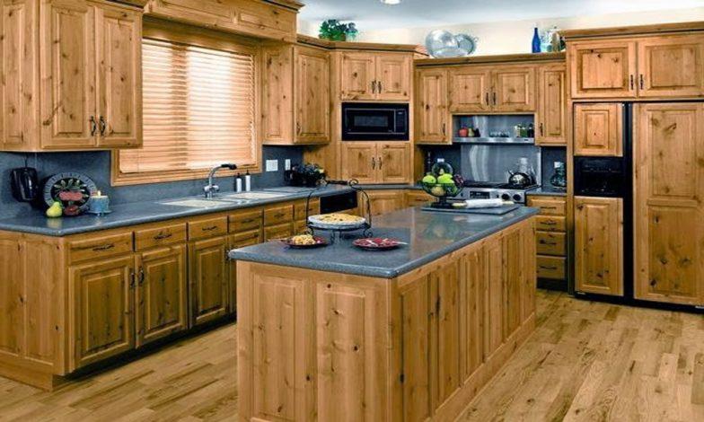 ahşap mutfak modeli
