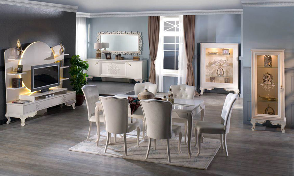 yemek odası dekorasyon örneği23