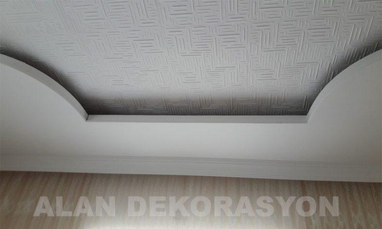Işık bandı ve tavan kaplama çalışmamız 7