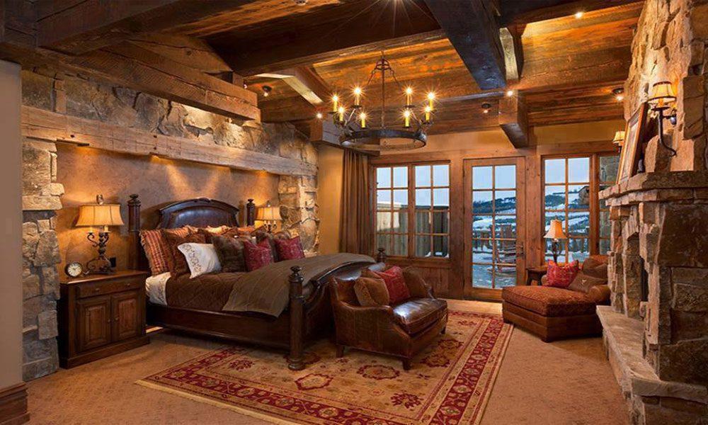 dağ evi dekorasyon örneği10