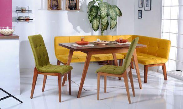 köşe mutfak masası