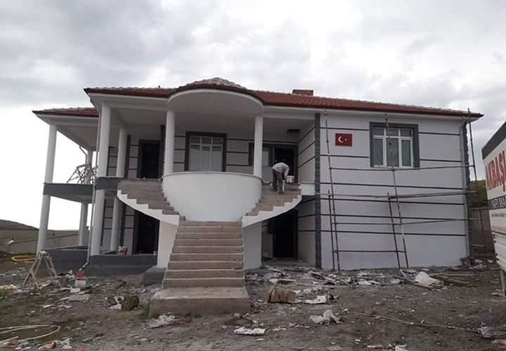 İki katlı temelden çatıya betonarme ev inşaatı çalışmamız9