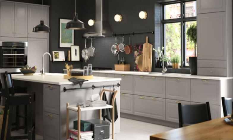 iskandinav mutfak dekorasyonu