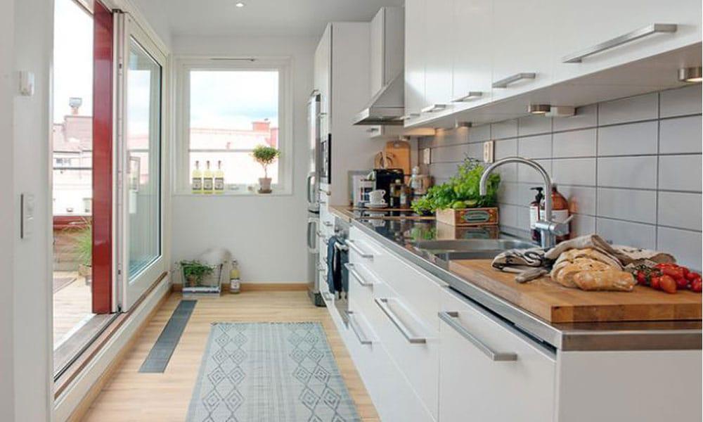 küçük mutfak dekorasyon örneği8