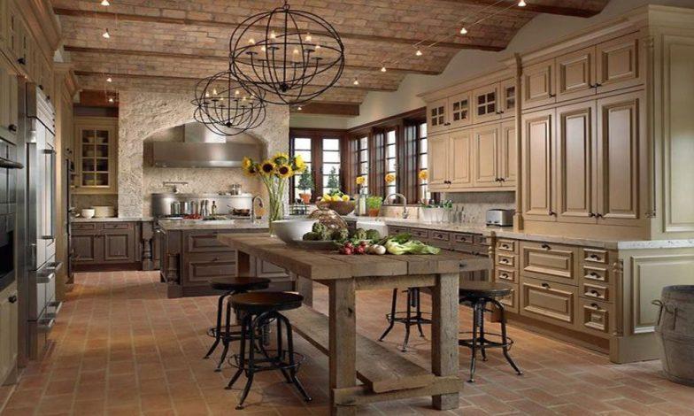 rustik mutfak tasarımı