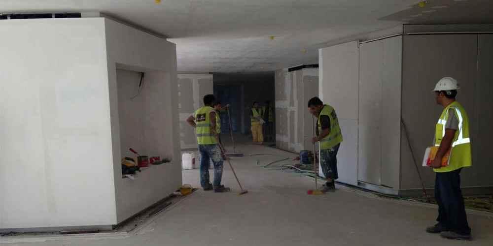 Bölme duvar asma tavan işimiz 2