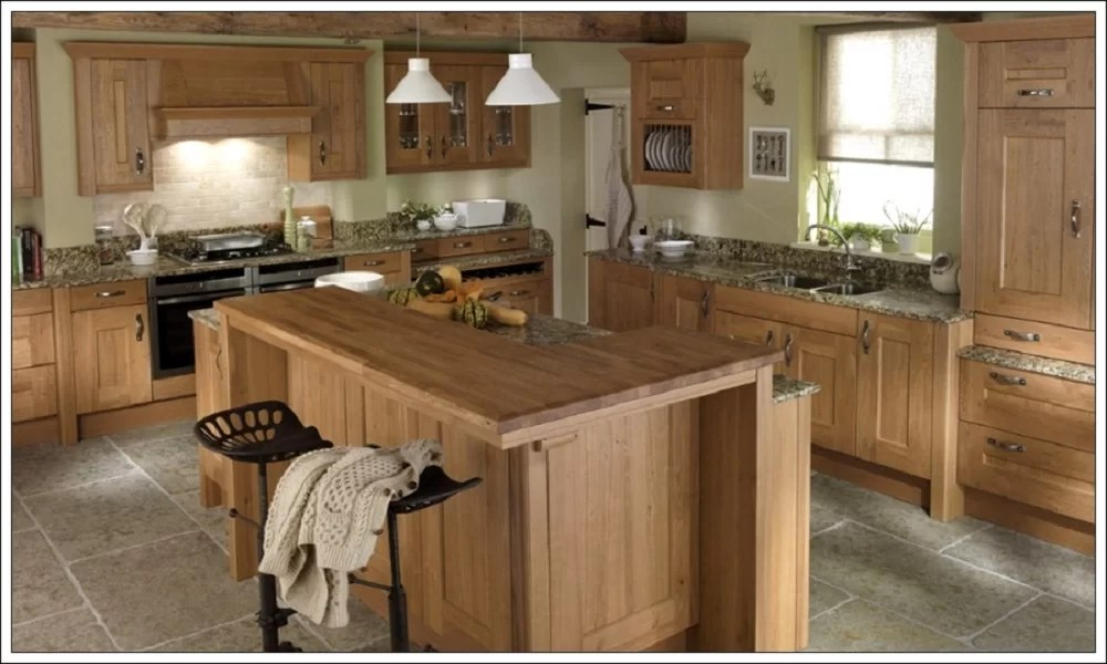 modern ahşap mutfak modeli12