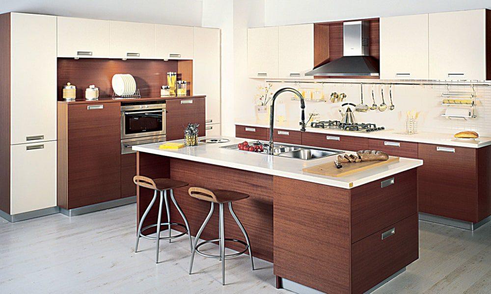 modern ahşap mutfak modelist33