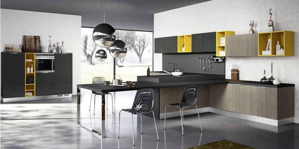 çift renk mutfaklar