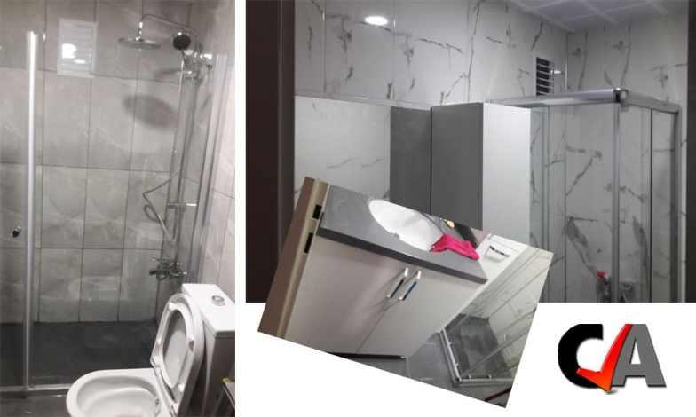 Bilkent'te banyo yenileme çalışmamız