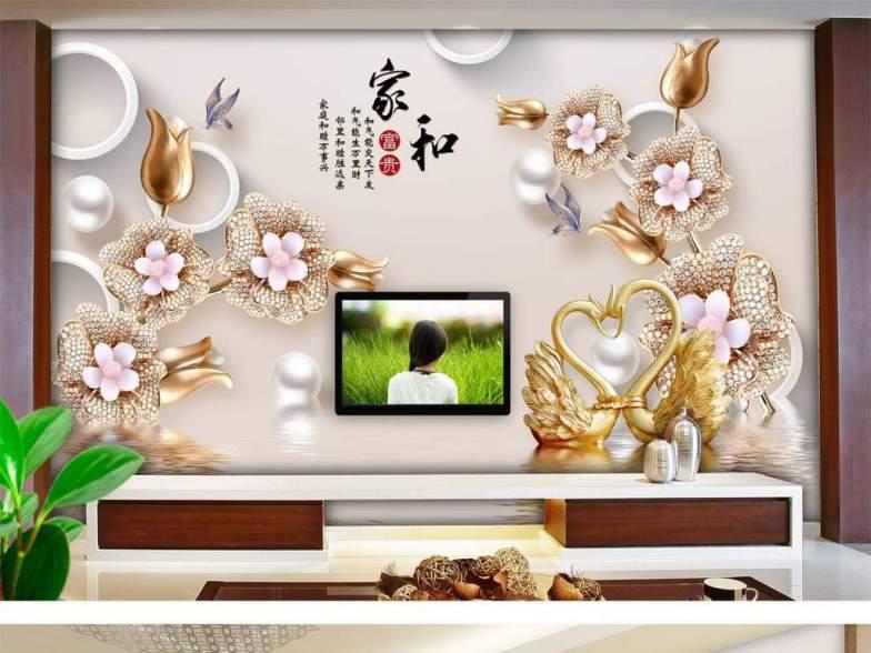 Yeni nesil 3D duvar kağıtları 11