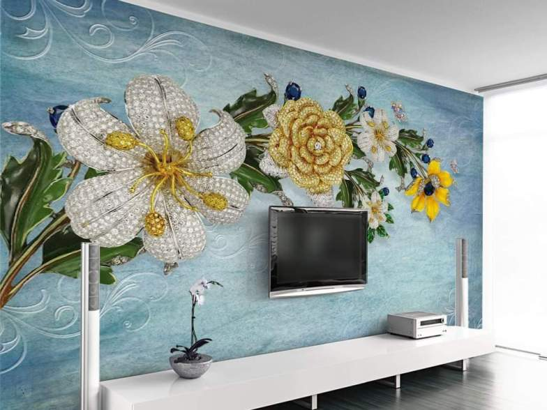 Yeni nesil 3D duvar kağıtları 13