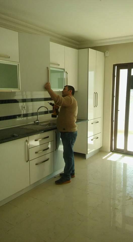İrem Hanıma Yatığımız Mutfak Dolabı