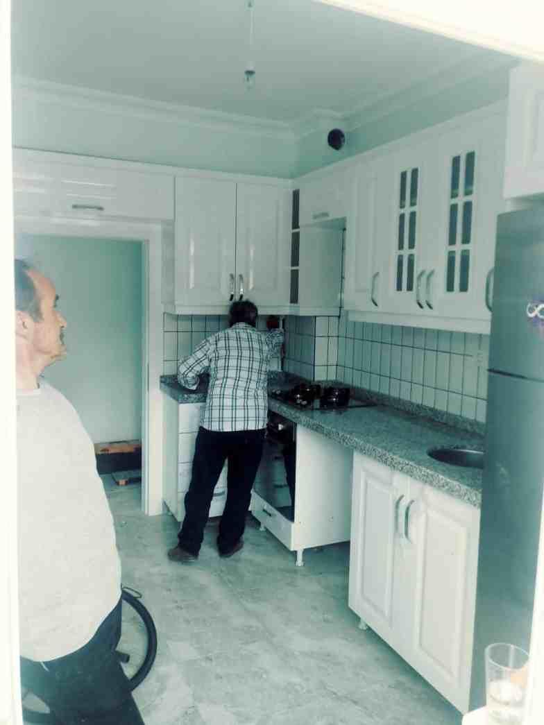 Netice hanımın mutfak tadilat işi (Çayyolu)