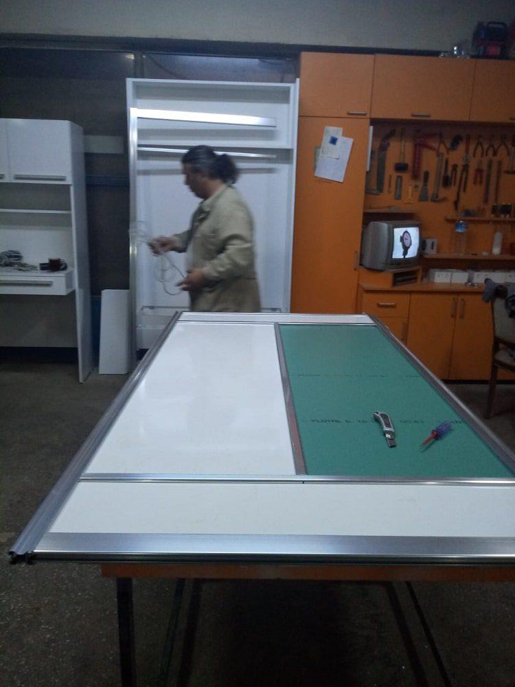 Vestiyer sürgülü kapak imalatımız 2
