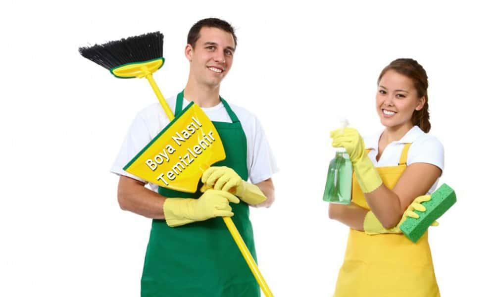 Boya nasıl temizlenir