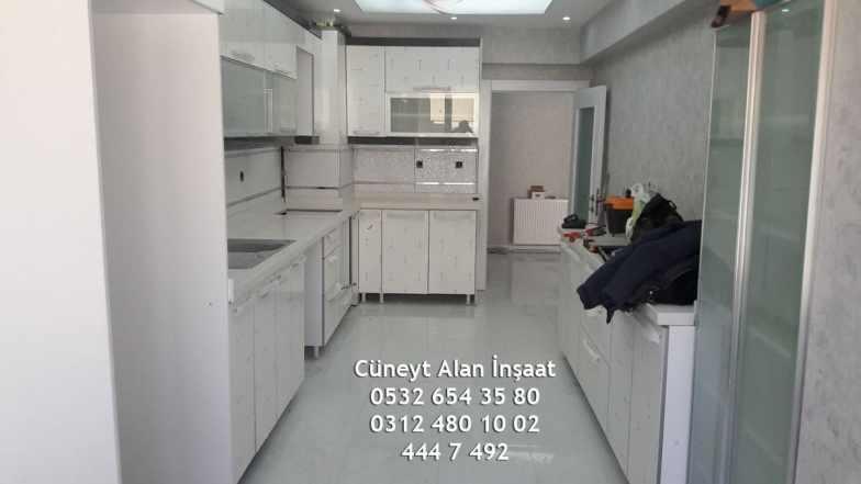 Yeni biten mutfak dekorasyon işimiz - ( Balgat/Ankara )