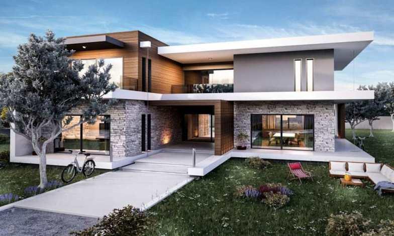 İki katlı ev ve villa modelleri 4