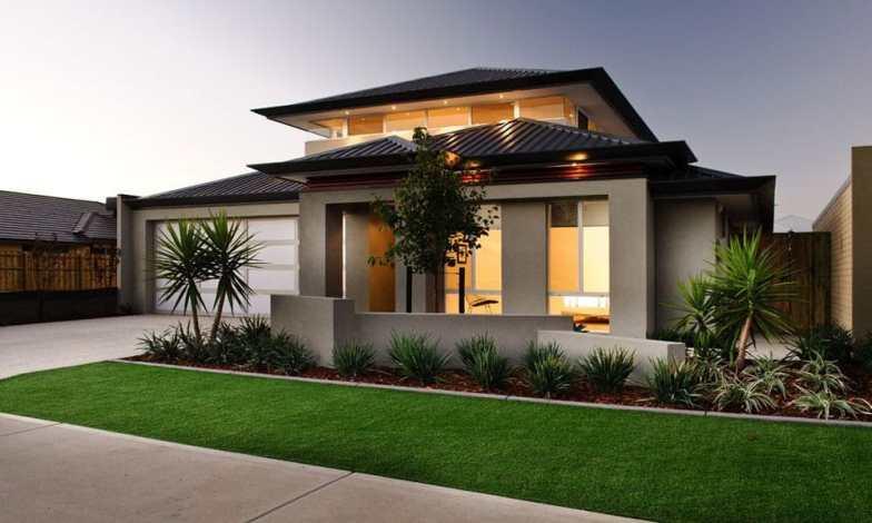İki katlı ev ve villa modelleri 9