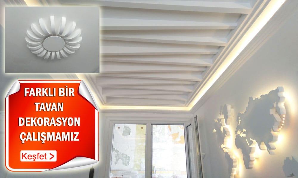 Yeni tavan dekorasyonları