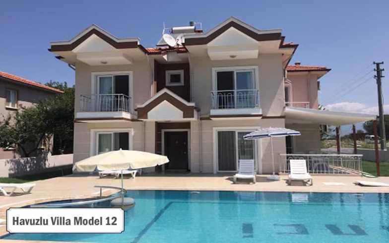 Havuzlu villa projeleri ve modelleri 12
