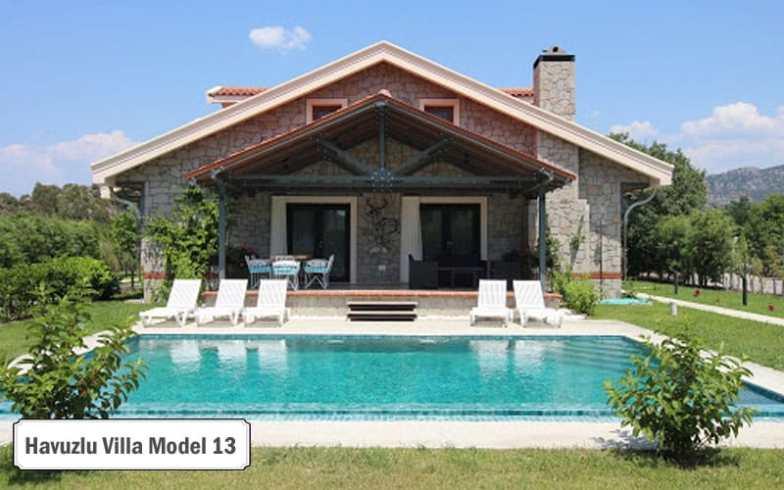 Havuzlu villa projeleri ve modelleri 13