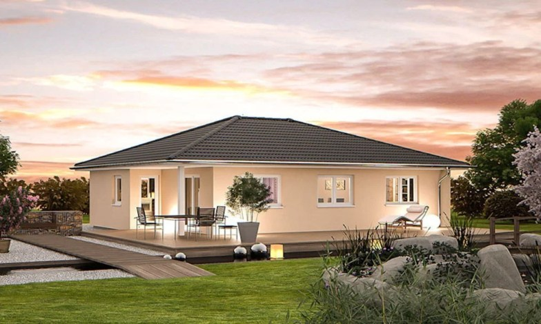 Tek katlı müstakil ev projeleri 14