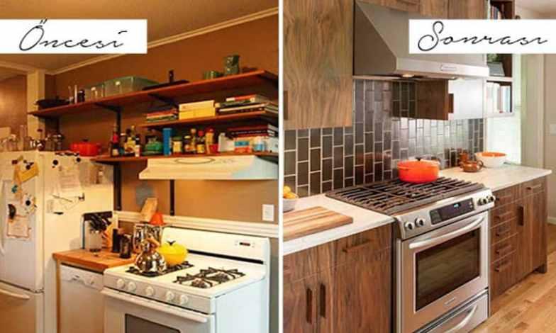 Mutfak dolabı ve komple mutfak tadilatımız