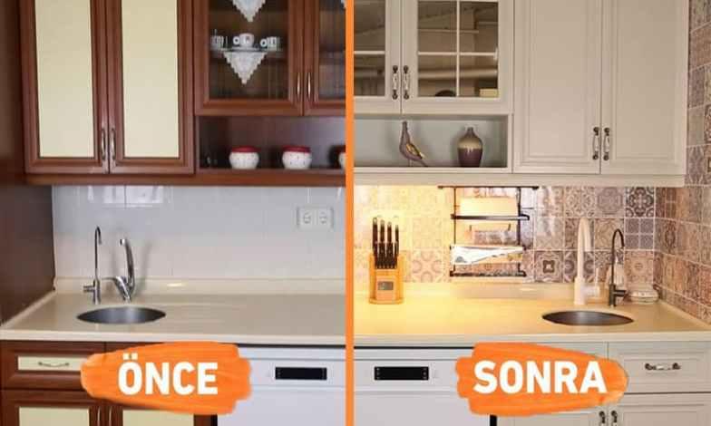 Mutfak tadilat ve dekorasyon projemiz