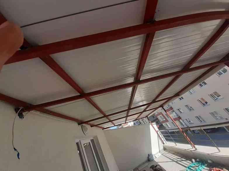 25 m2 terası 2 günde bitirdik3