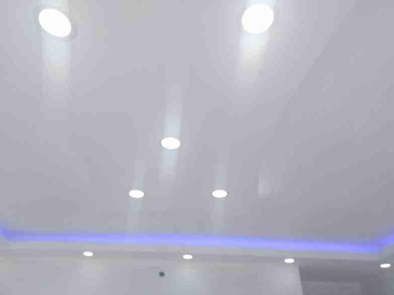 Renkli alçıpan tavan aydınlatmalar3ı