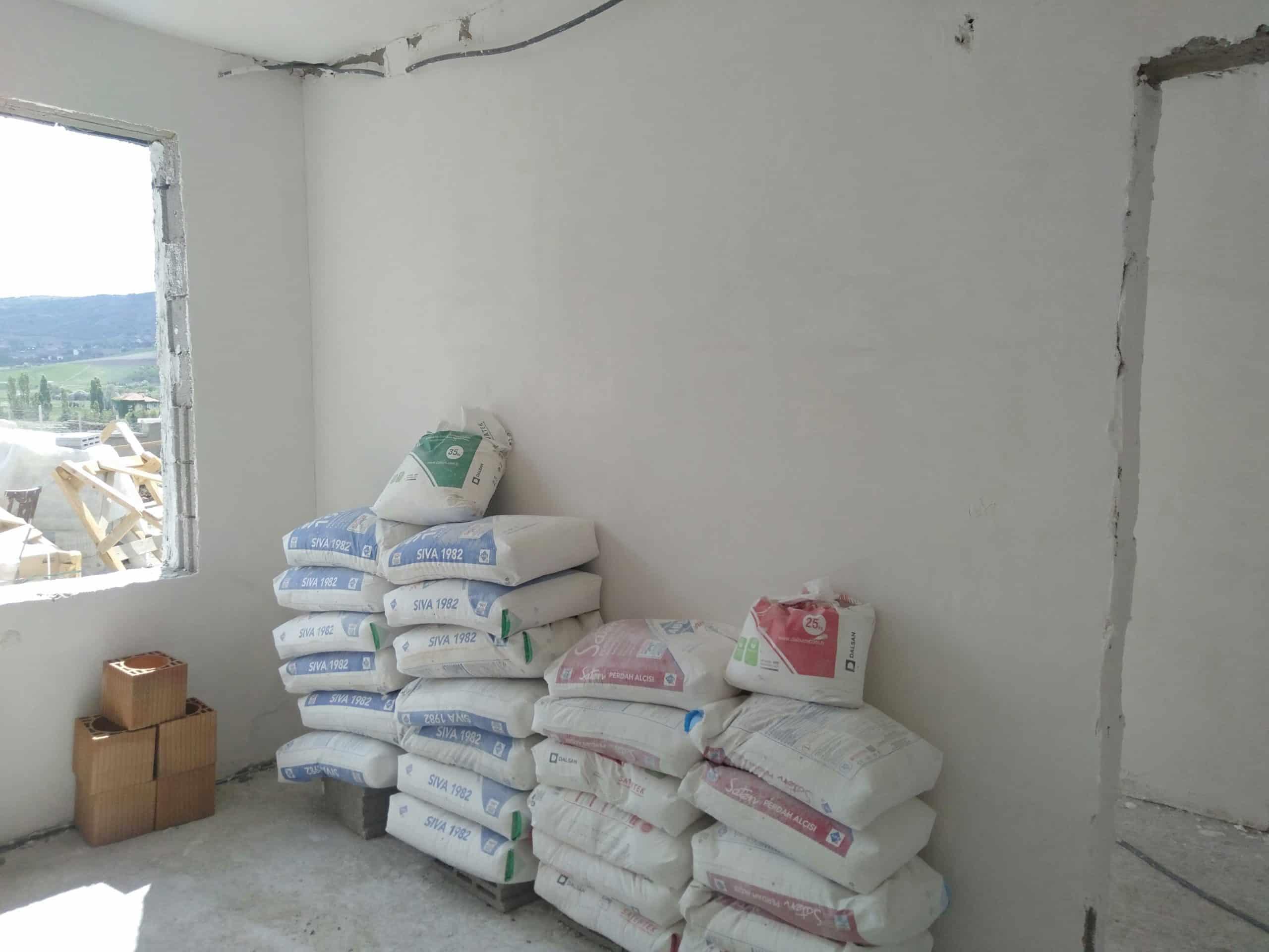 Temelden çatıya betonarme ev yaptırmak2