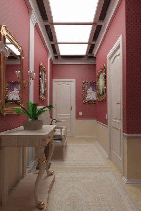 дизайн прихожей в квартире панельного дома 2
