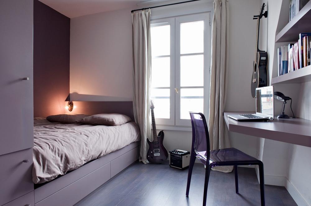 дизайн маленькой спальни 6 квм фото 3