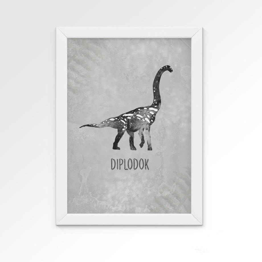 plakat-dino-diplodok-dekorillo