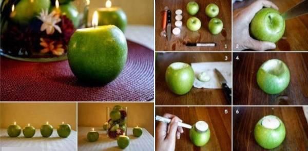 Elma şamdanları