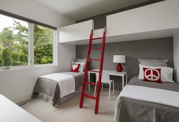 Design of a children's room for two children
