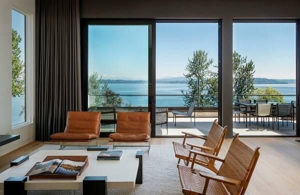 Living Room Design in Neutral Tones