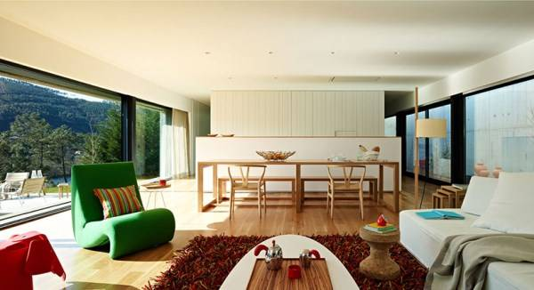 The best design of the living room in a modern style