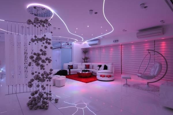 Çarpıcı fantastik oda aydınlatması