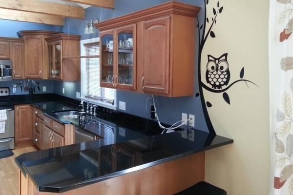 Duvar Kağıdı Çıkartmaları - Mutfak Duvar Dekoru